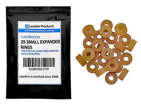 Small Expander Rings (25 Pack)