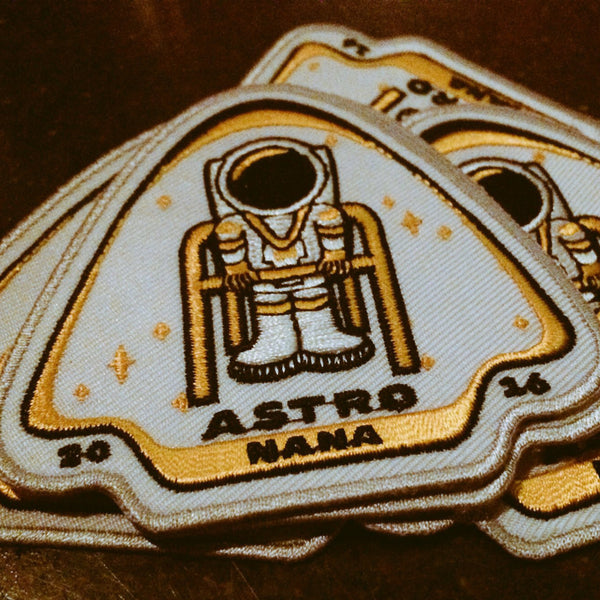 Astro Nana Iron-On Patch