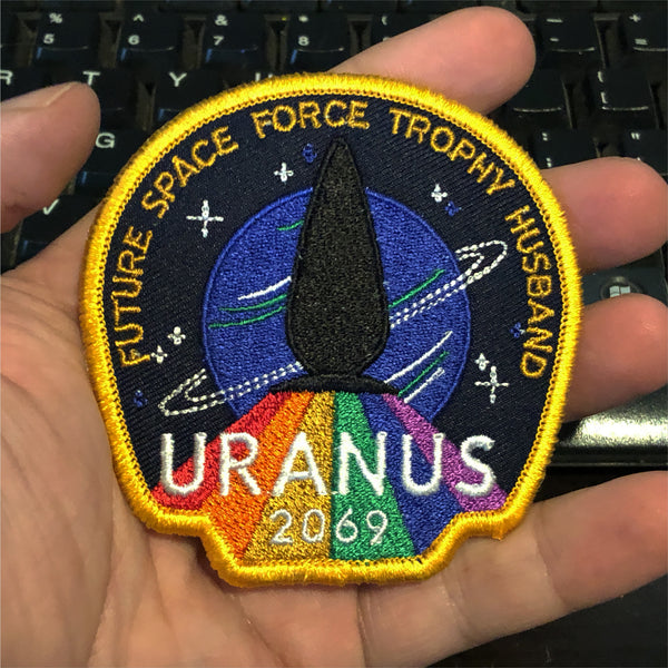 Uranus 2069 Iron-On Patch