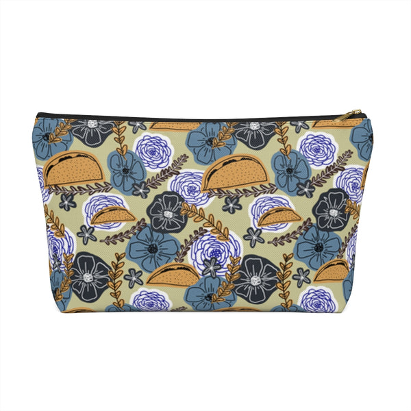 Floral Taco Accessory Pouch