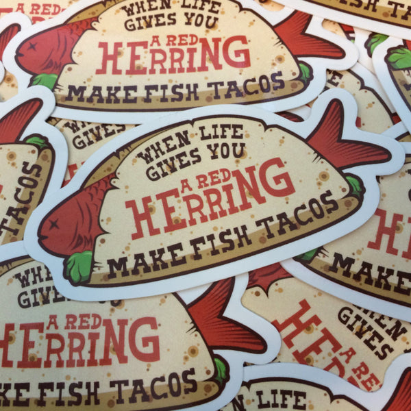 Fish Taco Stickers