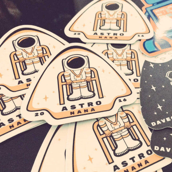 Astro Nana Stickers