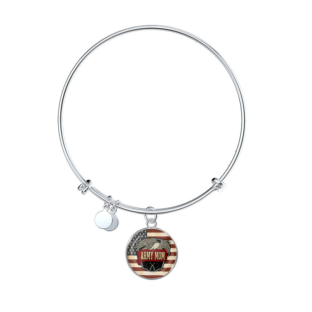 godmother god mother mom blessed plated bracelet sajolie gift silver bangle baptism bangles charm adjustable expandable