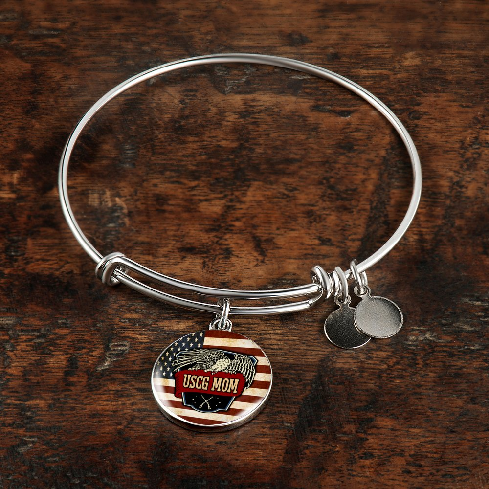 charm jewelry bangle dp sterling silver bracelet friends adjustable bangles mom forever amazon mother com daughter