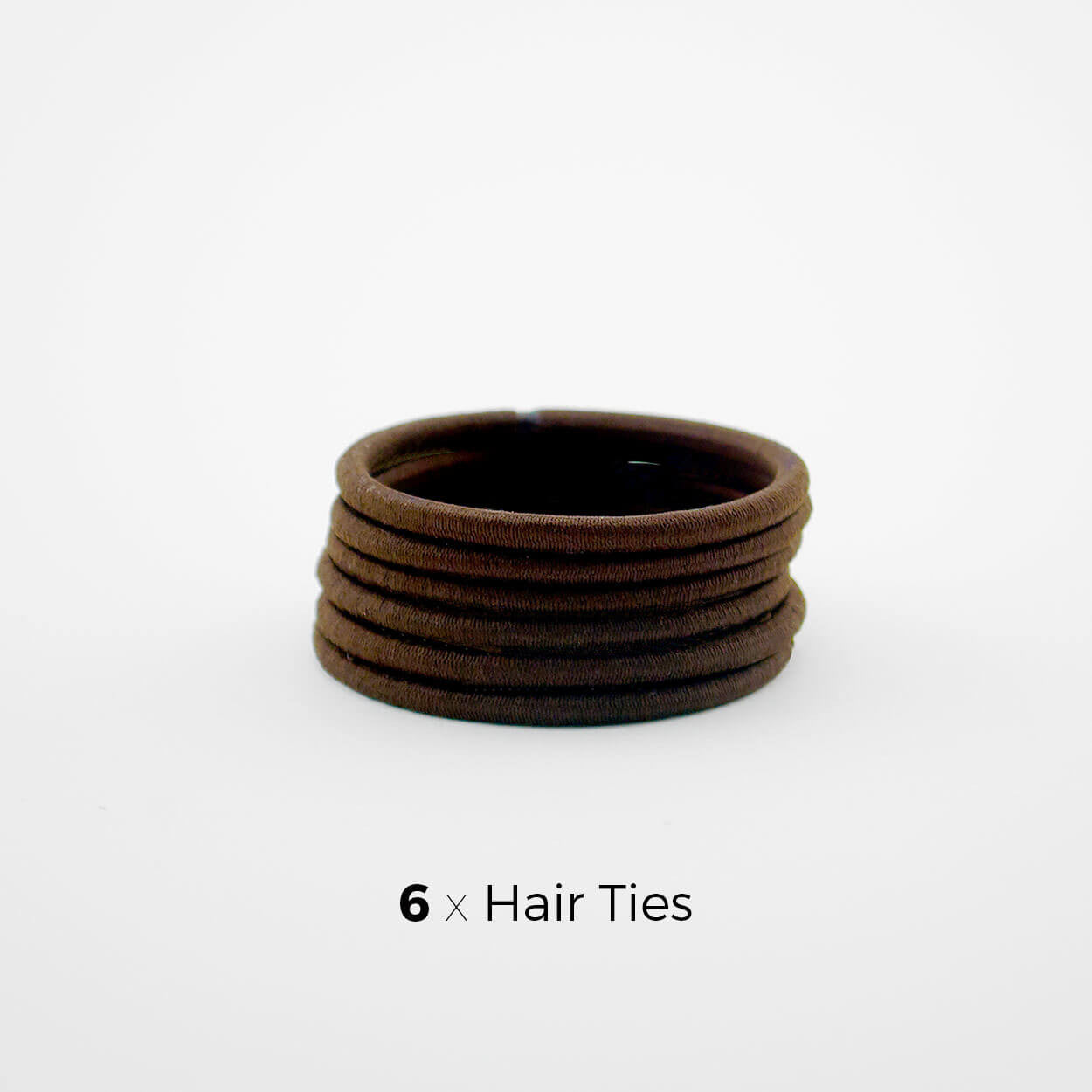 Brown Hair Tie Subscription