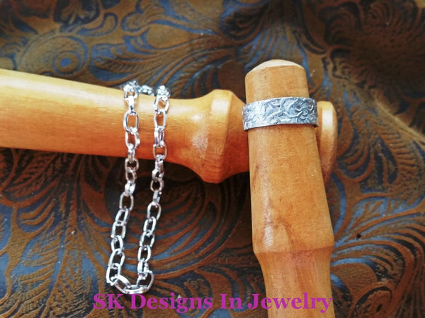 Baby Ring & Bracelet Set - Sterling Silver Jewelry