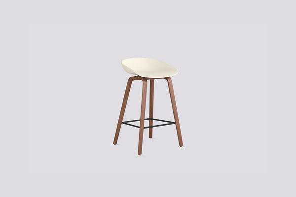 About A Stool 32 Counter Stool, Walnut Base
