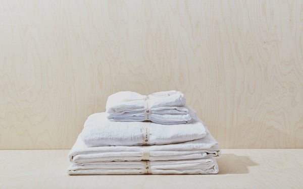 Simple Linen Bedding (King) starting at $128 at Port of Raleigh