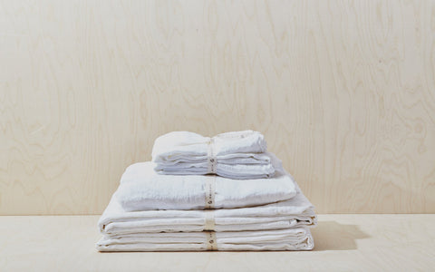 Simple Linen Bedding (King) starting at $128