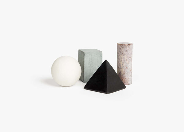 DrinkRocks keep your spirits as they should be: undiluted. These platonically shaped stones are designed to be chilled in your freezer before being admired in your evening cocktail. By Areaware