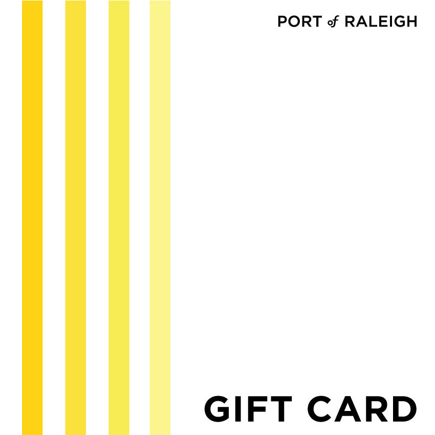 Gift Card at Port of Raleigh