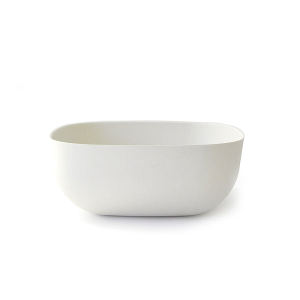 Modern, durable, light weight, and minimal bamboo fibre tableware by EKOBO that's eco-friendly