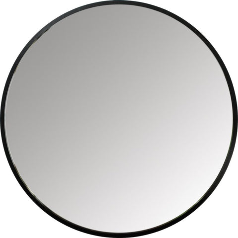 Hub Round Wall Mirror, 37in