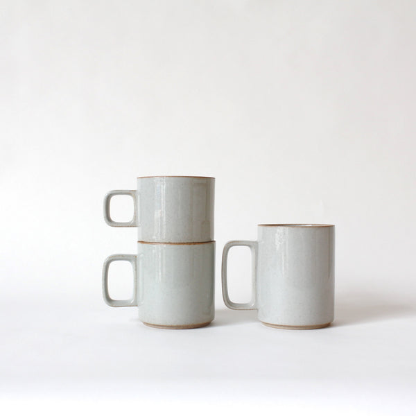 Gloss Grey Porcelain Mug at Port of Raleigh