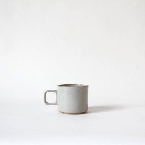 Gloss Grey Porcelain Mug