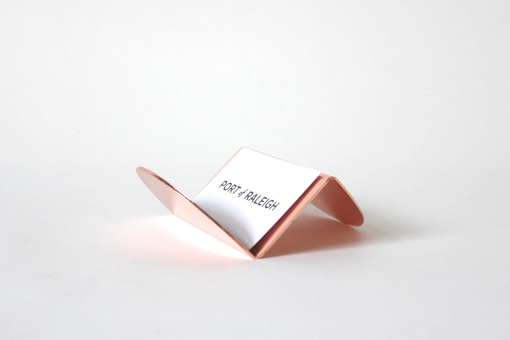 Wave Business Card Holder at Port of Raleigh