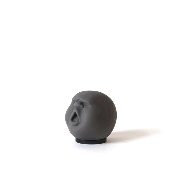 Squeeze out the stress with these snarky faced stress balls. The solid silicone has a uniquely addicting texture, and each Stress Head is molded by hand in Japan, preserving the characteristic features of each face. +d Faces of the Moon are stress balls unlike any you've seen. Designed by Makiko Yoshida.