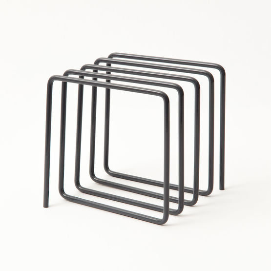 Modern and simple magazine rack also great for file folders and documents. Designed by Block in the UK at Port of Raleigh