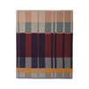 Medley multi-color cotton knit blanket in contemporary colors by Ferm Living Danish design