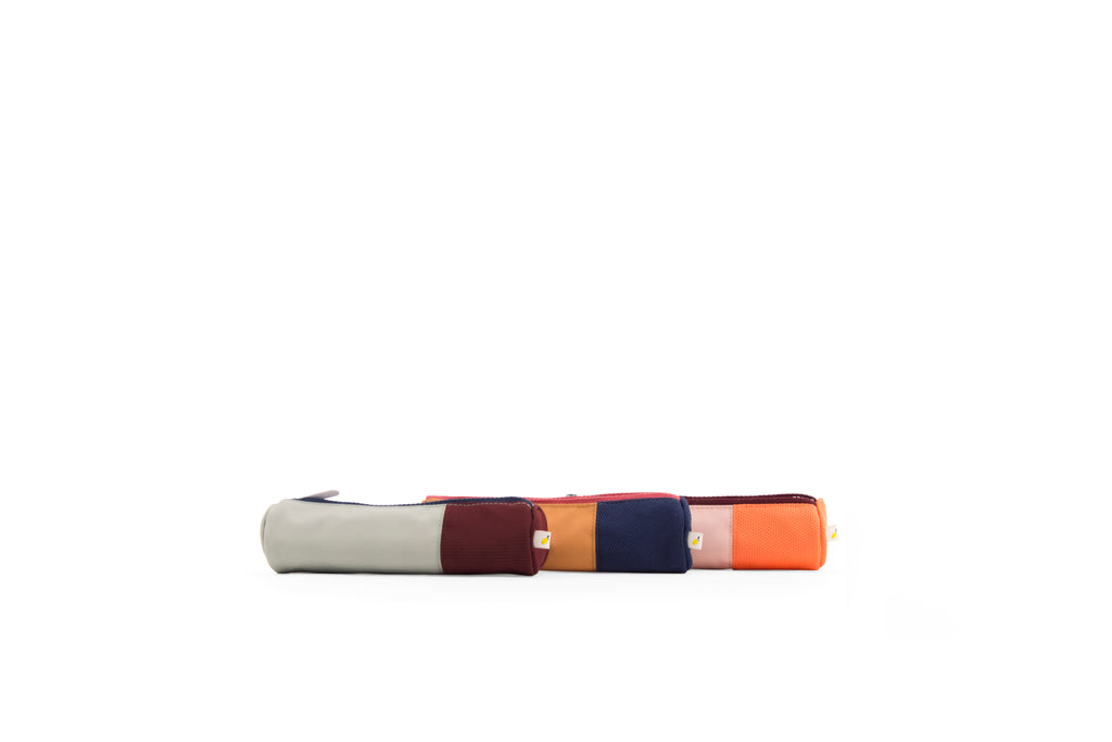 Modern color block pencil case by Sticky Lemon at Port of Raleigh