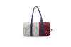 Modern color block duffle bag by Sticky Lemon