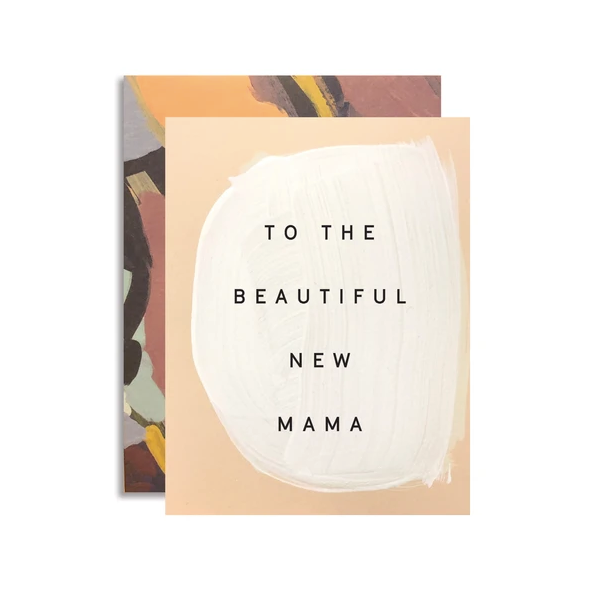 Card for Mom - New Mama