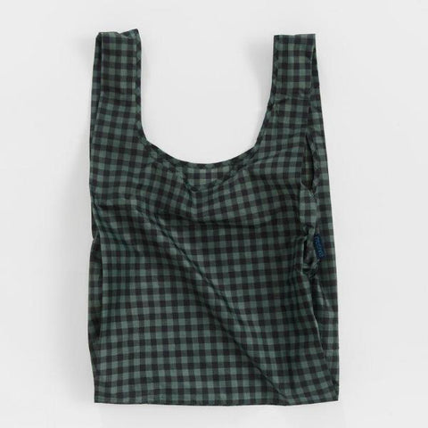Reusable ripstop nylon bag for groceries, everyday hauls, and a graphic punch to your wardrobe. By Baggu