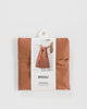 Minimalist reusable ripstop nylon bag by Baggu in terracotta