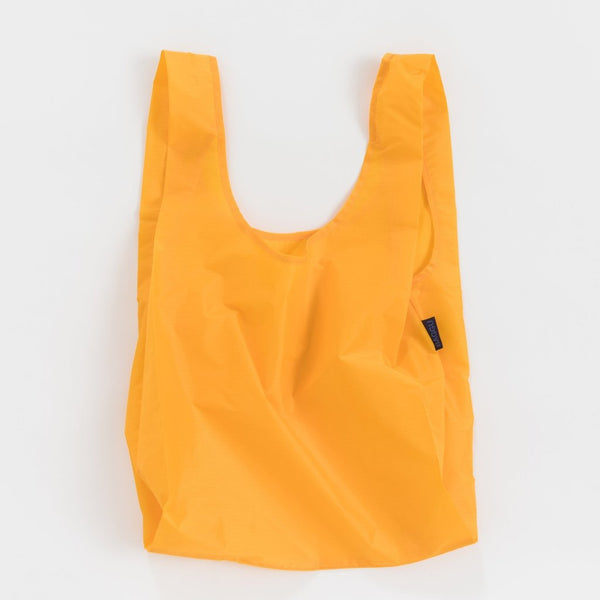 Minimalist reusable ripstop nylon bag by Baggu in Yolk at Port of Raleigh
