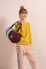 Modern color block duffle bag by Sticky Lemon at Port of Raleigh
