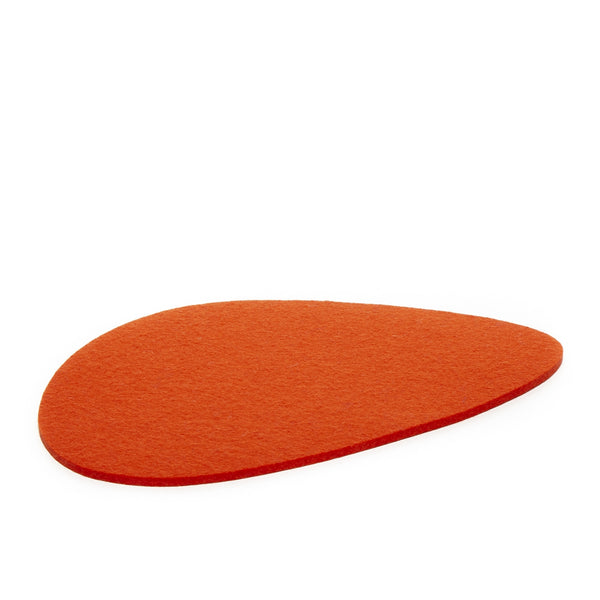 Merino Wool Felt Stone Trivet, Large - FINAL SALE