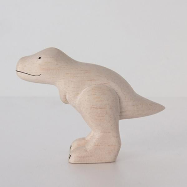 PolePole wood animals by T-Lab Japan. Simple minimalist and lightweight wood dinosaurs in black and white. Perfect toys for children or for simple and playful decor for any age. Made from Albizia wood in Bali.  at Port of Raleigh