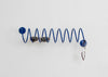 Fun and modern Corkscrew Wall Hook made in USA in powder coated steel by This That