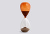 A contemporary twist on the classic hourglass timer by HAY at Port of Raleigh