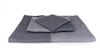 Black Two Tone Chambray Towel