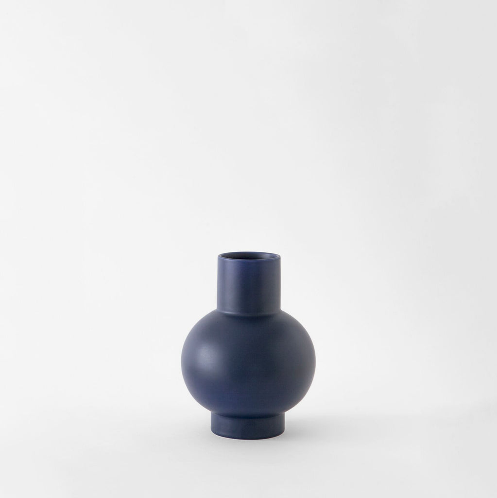 Inspired by still life paintings, the Strøm Collection vases from Raawii are a balance between function and form, exuding simplicity with a vivid flair. Handmade in Portugal by slip-cast technique, these striking ceramic vases are designed with purpose. at Port of Raleigh