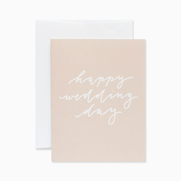 Card - Happy Wedding Day at Port of Raleigh