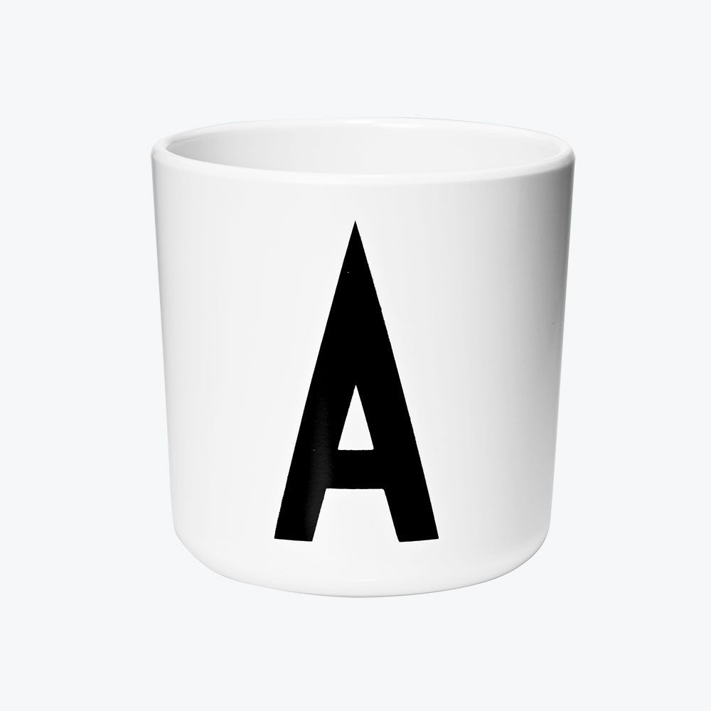 Design Letters Melamine Cup at Port of Raleigh