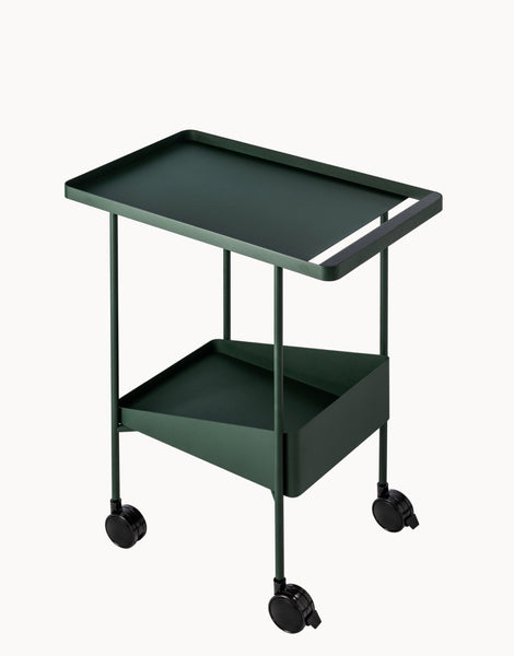 A simple but sturdy and sleek trolley cart that can be used for every task in your home or office. Made of FSC-certified ash wood and lead-free, powder coated steel by Dims.  at Port of Raleigh