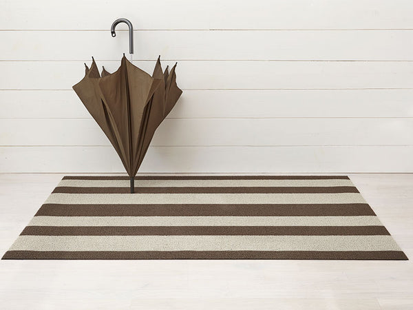 Shag Indoor/Outdoor Floor Mat, Bold Stripe
