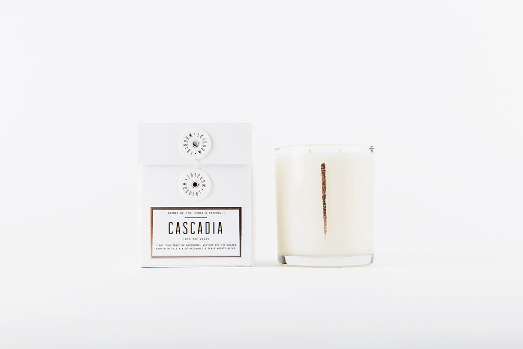Woodlot Candle, Cascadia 13.5oz at Port of Raleigh