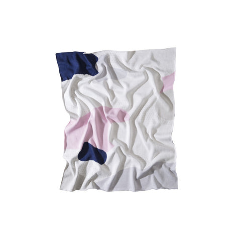Cotton Baby Blanket, The Clarke Pink