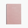 Minimalist open dated planner agenda with Smyth Sewn binding by Poketo