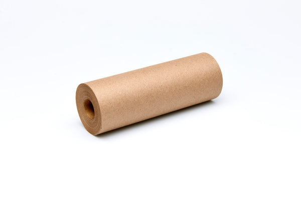Refill brown kraft paper roll for George and Willy Daily Roller. Daily Roller bracket sold separately at Port of Raleigh