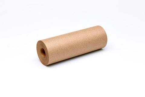 Refill brown kraft paper roll for George and Willy Daily Roller. Daily Roller bracket sold separately