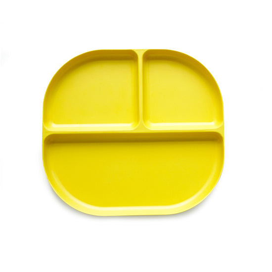 The perfect mealtime companion for cool kids, this bamboo fibre plate has three divided sections and is durable and easy to clean. Designed in France by Ekobo, each tray is dishwasher safe and comes in bright colors that any kid will love and every parent approve.