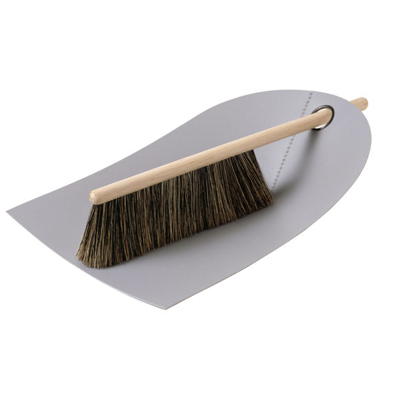 Dustpan & Broom, Light Grey