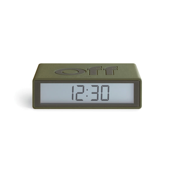Flip Digital Alarm Clock, Travel Size