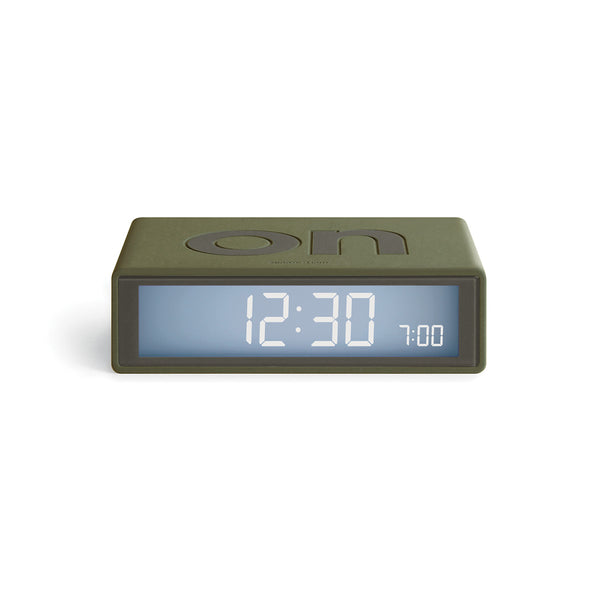 Flip Digital Alarm Clock, Travel Size at Port of Raleigh