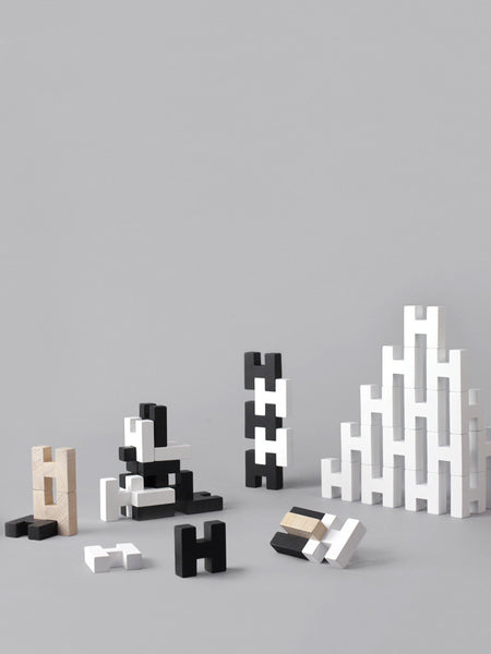 Deceptively simple yet surprisingly creative construction blocks.  Challenge yourself with architectural structures, designer compositions, sculptural expressions. at Port of Raleigh